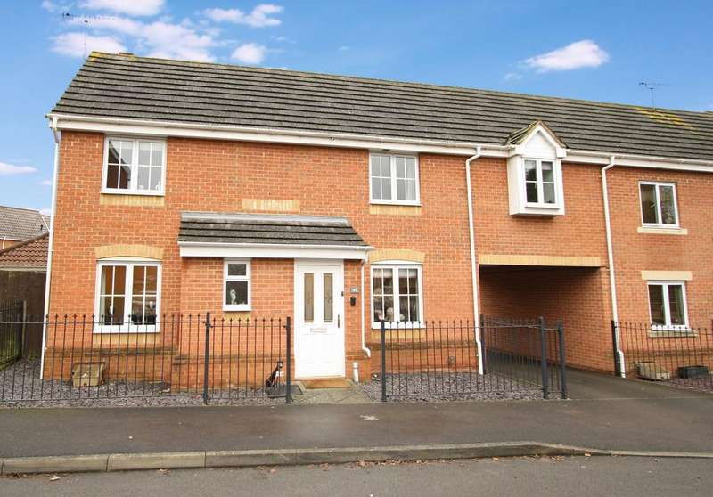 4 Bedrooms Semi Detached House for sale in Fawn Crescent, Botleigh Lakeside SO30