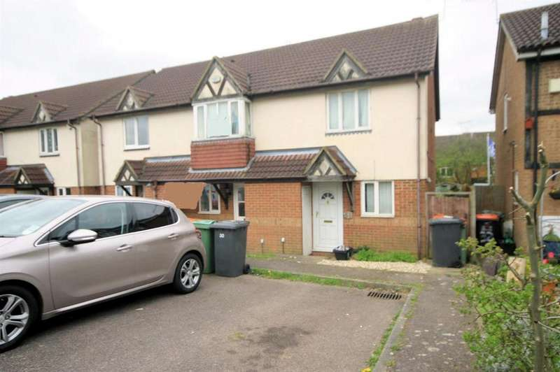 2 Bedrooms End Of Terrace House for sale in Farmbrook, Luton