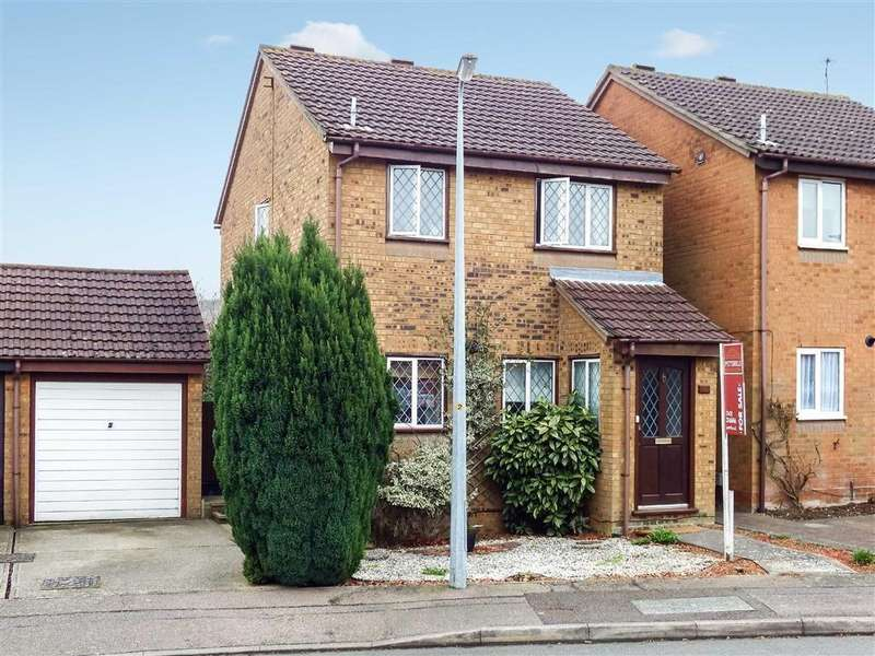 3 Bedrooms Detached House for sale in Montfitchet Walk, Stevenage, Hertfordshire, SG2