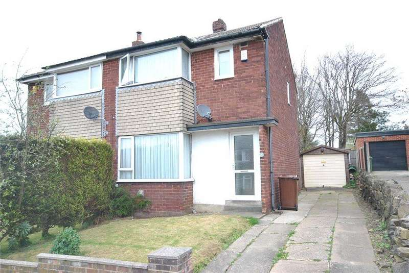 3 Bedrooms Semi Detached House for sale in Grove Farm Drive, Cookridge, Leeds