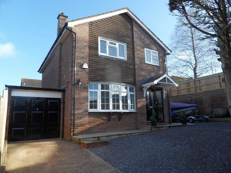 4 Bedrooms Detached House for sale in Garratt Close, Exmouth