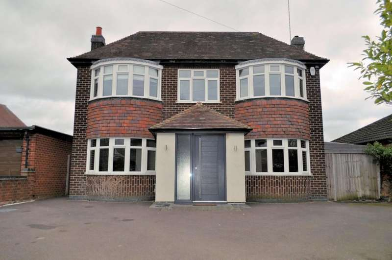 4 Bedrooms Detached House for sale in Tutbury Road, Burton-on-Trent