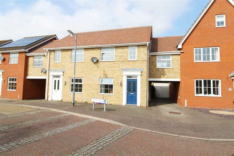 3 Bedrooms Terraced House for sale in Magnus Drive, Myland, Colchester