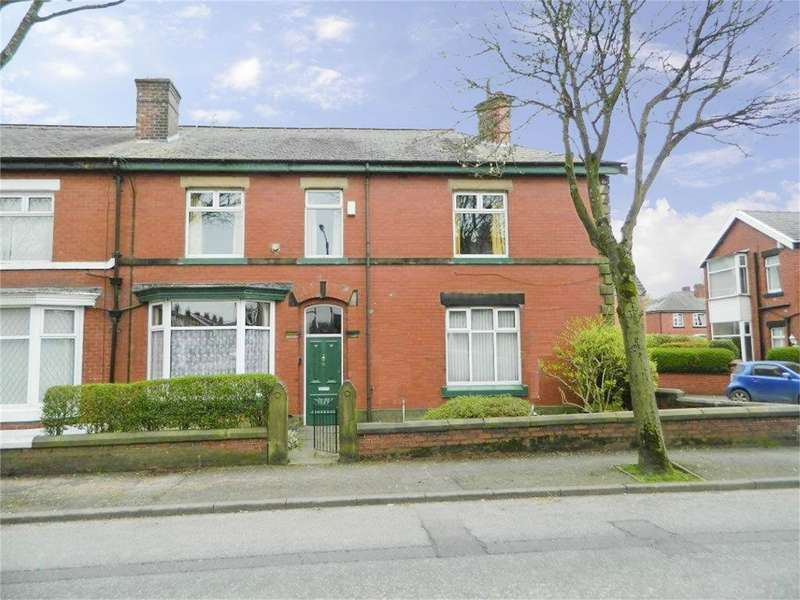 3 Bedrooms End Of Terrace House for sale in Ainsworth Road, Bury, Lancashire