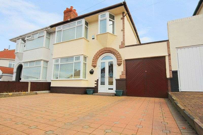 3 Bedrooms Semi Detached House for sale in Windsor Road, Huyton, Liverpool, L36