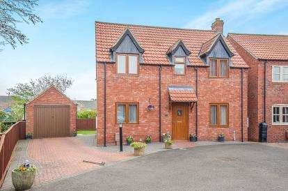 3 Bedrooms Detached House for sale in Cope Court, Swineshead, Boston, Lincolnshire