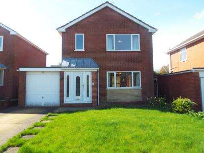 3 Bedrooms Detached House for sale in Allen Drive, Mansfield, Nottinghamshire