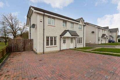 3 Bedrooms Semi Detached House for sale in Herbison Crescent, Shotts