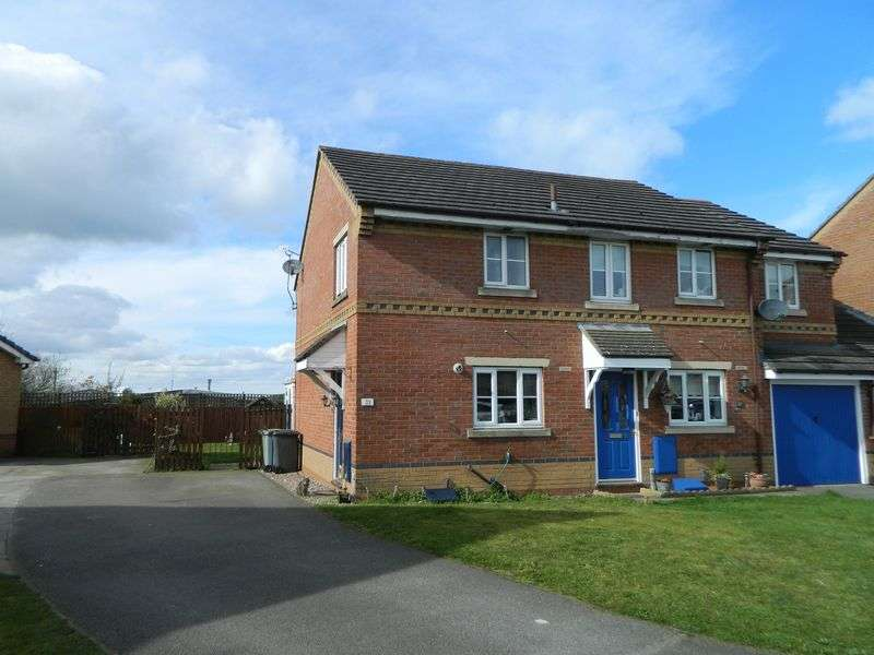 2 Bedrooms Semi Detached House for sale in Milton Way, Sandbach
