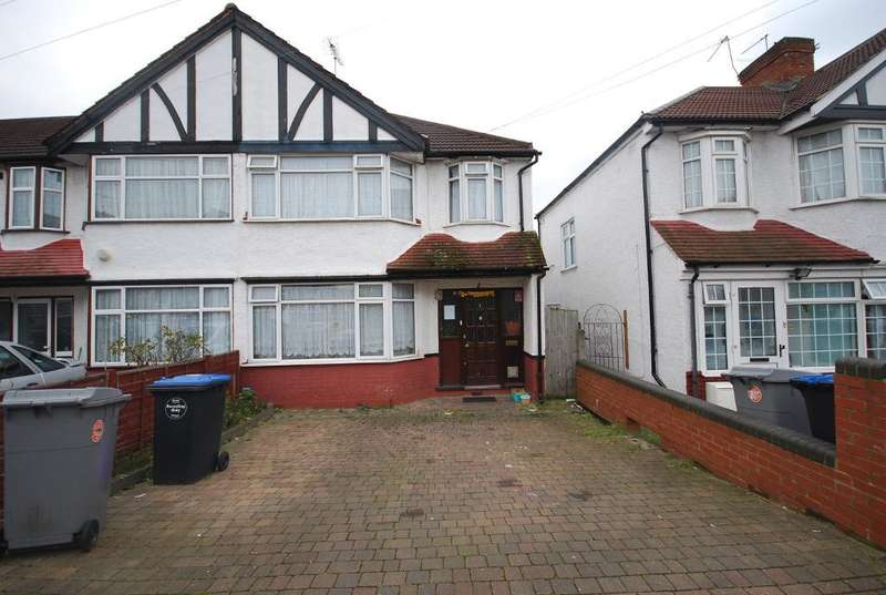3 Bedrooms End Of Terrace House for sale in ROWLEY CLOSE, WEMBLEY, MIDDLESEX, HA0 4HE