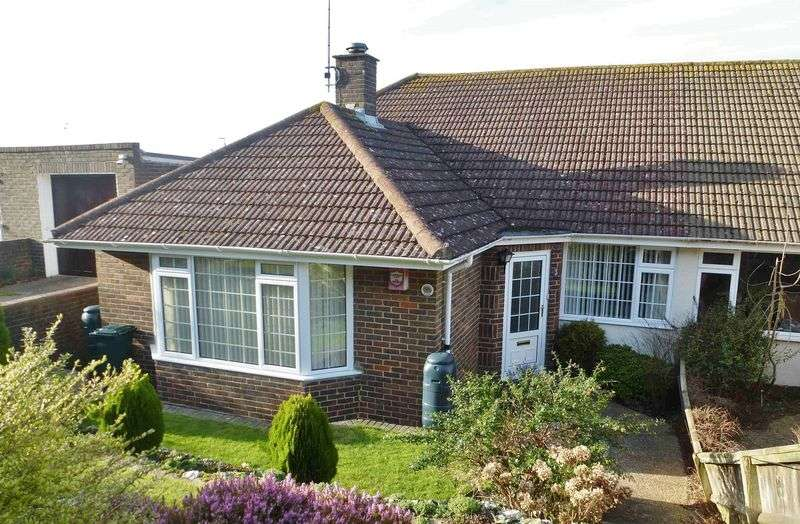 3 Bedrooms Semi Detached Bungalow for sale in Ditchling Crescent, Brighton, East Sussex,