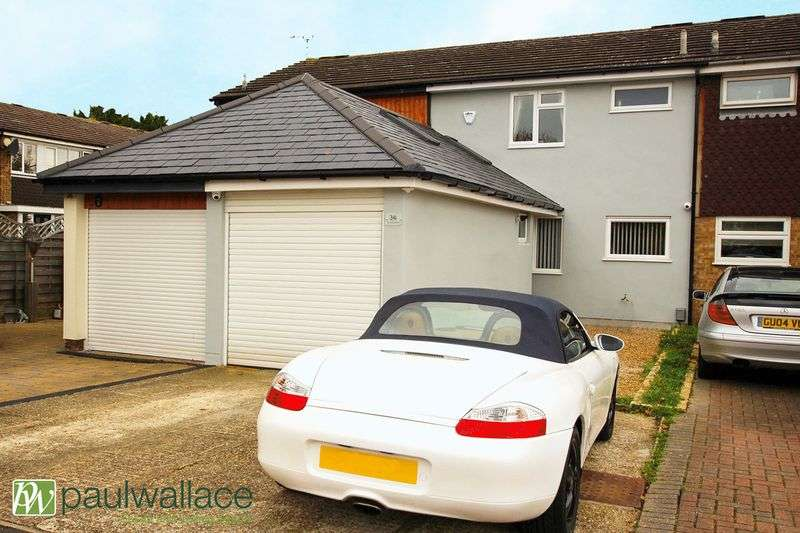 3 Bedrooms Terraced House for sale in Tunfield Road, Hoddesdon