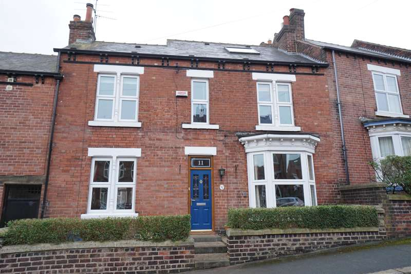 5 Bedrooms Semi Detached House for sale in Spring View Road, Crookes, Sheffield, S10 1LS