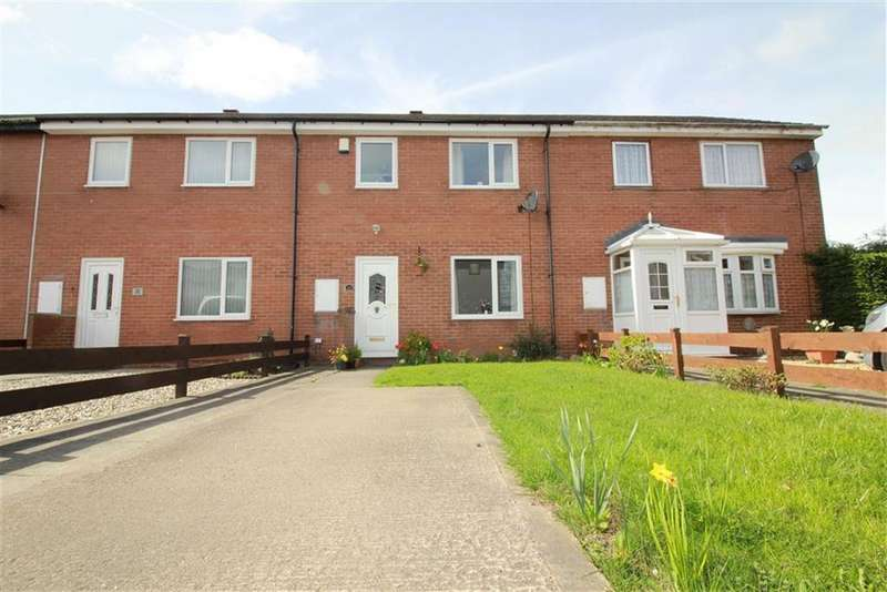 3 Bedrooms Terraced House for sale in Chapel Place, Newcastle Upon Tyne, NE13