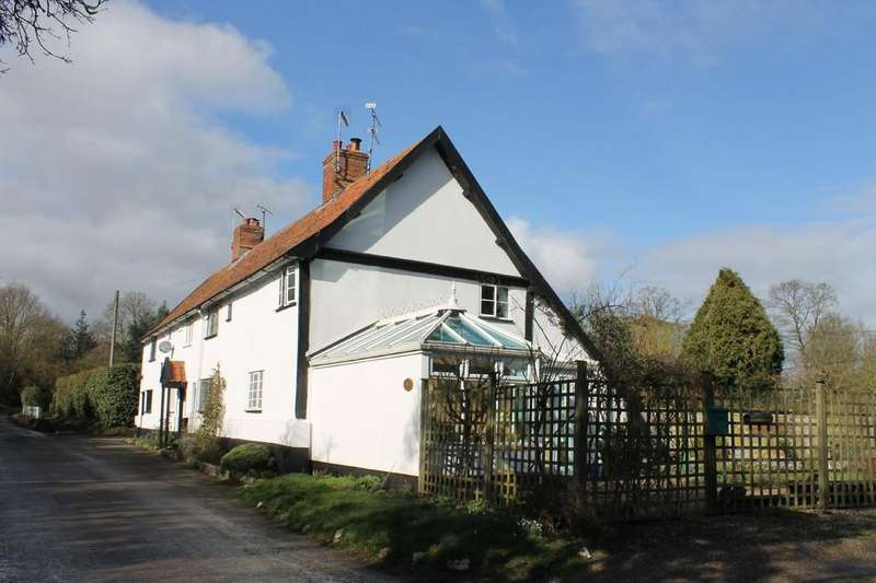 2 Bedrooms End Of Terrace House for sale in Huntingfield, Near Halesworth, Suffolk