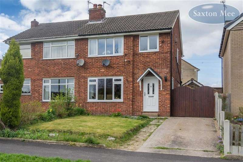 3 Bedrooms Semi Detached House for sale in Ash View, Chapeltown, Sheffield, S35