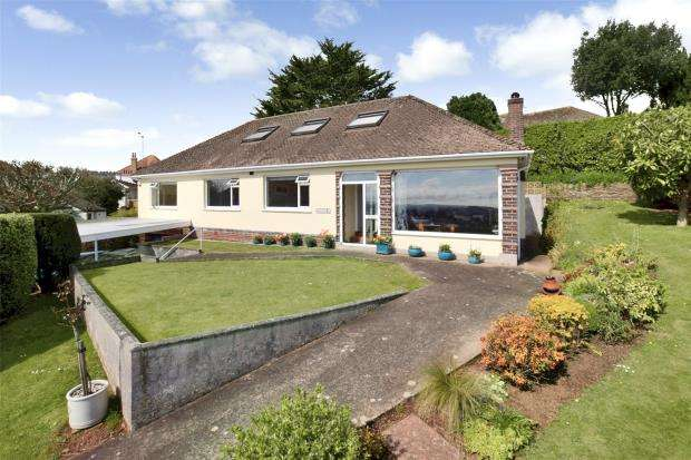 4 Bedrooms Detached Bungalow for sale in Shorton Road, Paignton, Devon