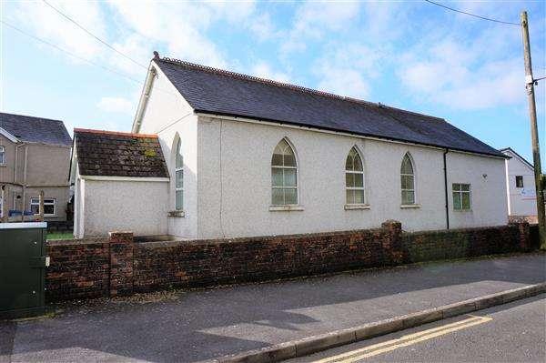 Commercial Property for sale in Ebenezer Apostolic Community Church, LLANDYBIE, Ammanford