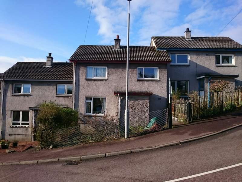 2 Bedrooms Terraced House for sale in 17 Brae Road, Ardrishaig, Lochgilphead, PA30 8EB