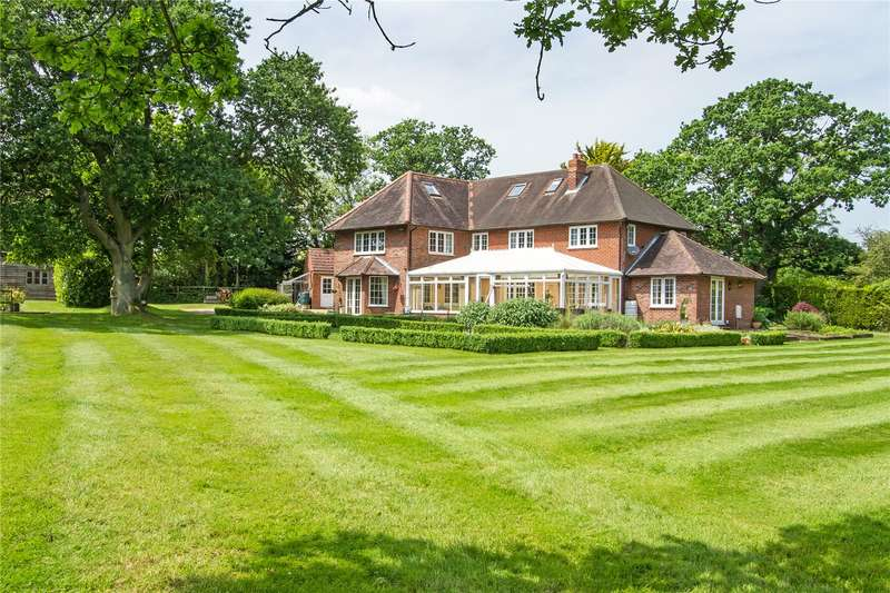 5 Bedrooms Detached House for sale in Broad Oak, Odiham, Hook, Hampshire, RG29