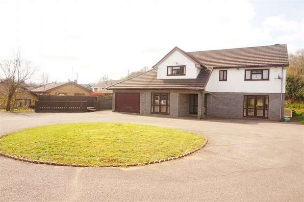 5 Bedrooms Detached House for sale in Park Drive, Bargoed, Caerphilly