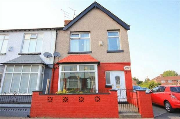 3 Bedrooms End Of Terrace House for sale in Ionic Road, Liverpool, Merseyside