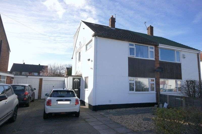 4 Bedrooms Semi Detached House for sale in Belmont Drive, Pensby
