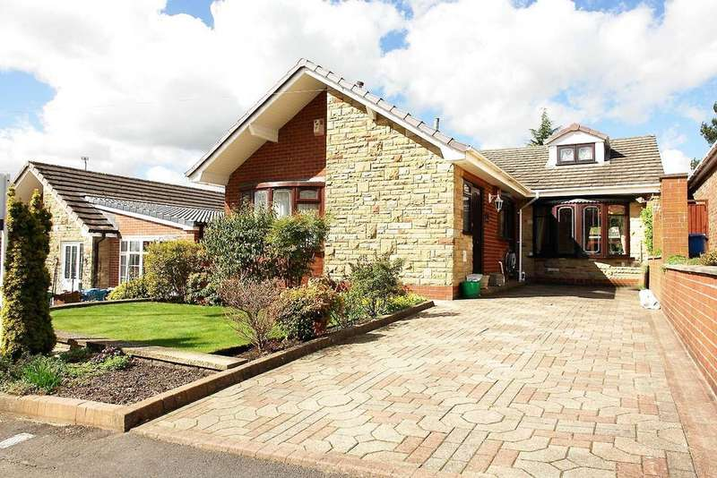 2 Bedrooms Detached Bungalow for sale in 13 Parklands, Royton