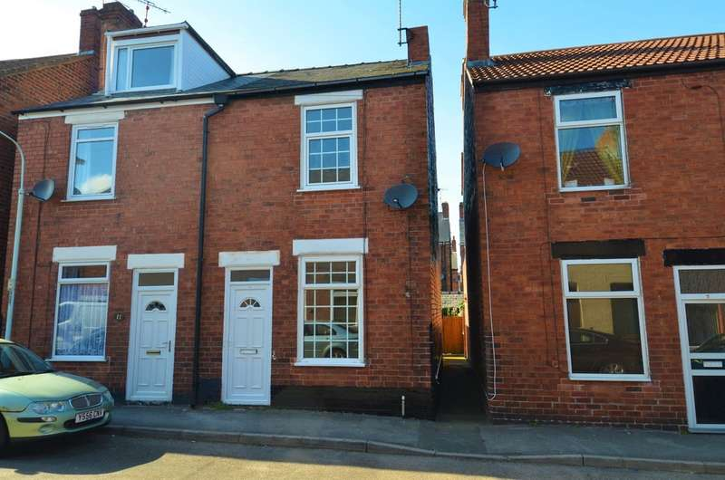 2 Bedrooms End Of Terrace House for sale in Charles Street, Brampton, Chesterfield