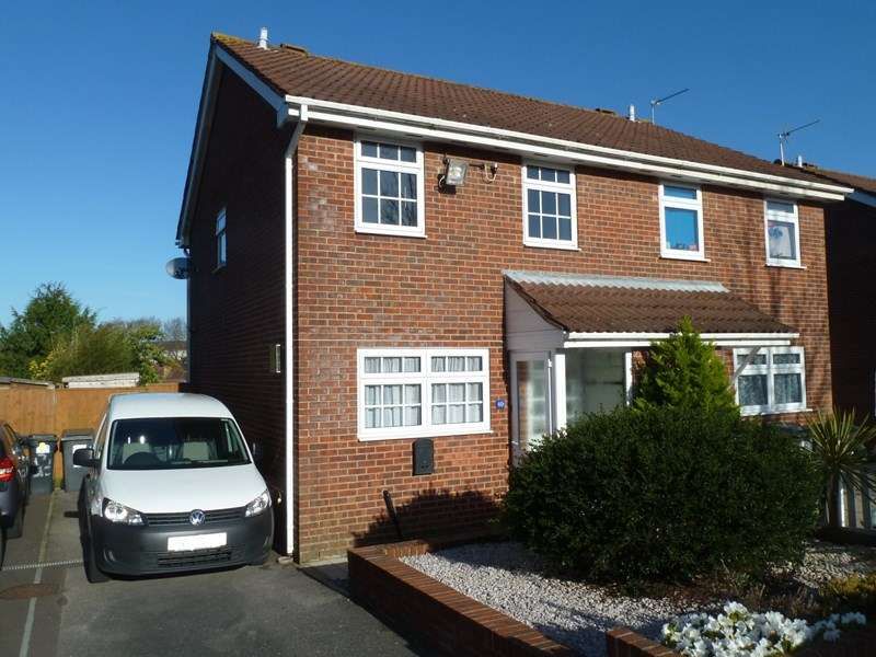 3 Bedrooms Semi Detached House for sale in Norcliffe Close, Ensbury Park, Bournemouth
