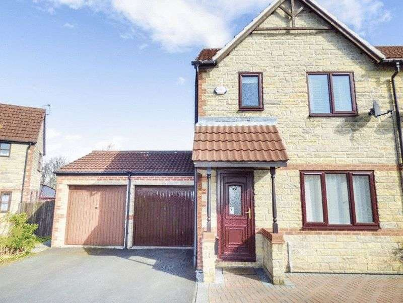 3 Bedrooms Semi Detached House for sale in Anvil Court, County Durham, DH1 5EL