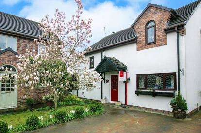 3 Bedrooms Link Detached House for sale in The Cottage, Merehaven, Pickmere, Knutsford, Cheshire
