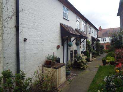 2 Bedrooms End Of Terrace House for sale in St. Peters Place, Church Lane, Kingsbury, Tamworth