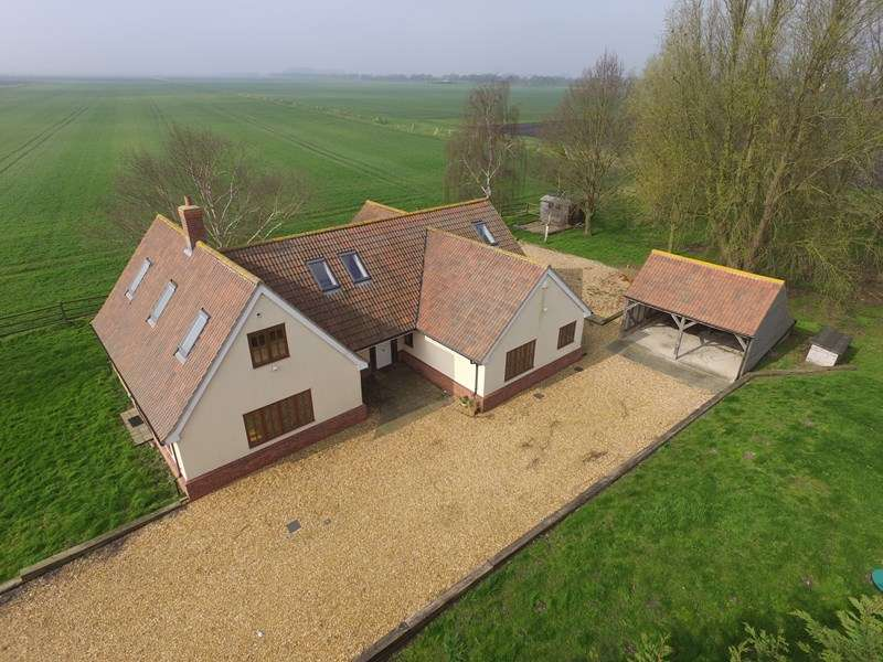 5 Bedrooms Detached House for sale in Shippea Hill Road, Burnt Fen, Bury St. Edmunds