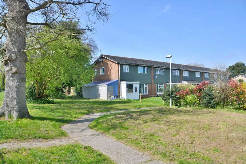 3 Bedrooms End Of Terrace House for sale in Millfield, Poole, BH17 7XG