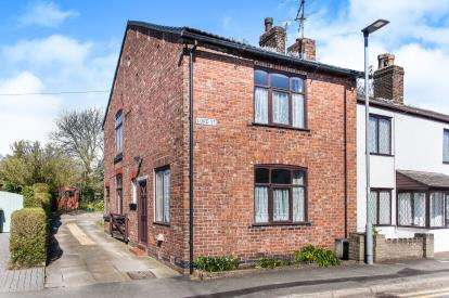 3 Bedrooms End Of Terrace House for sale in Lord Street, Croft, Cheshire, Warrington