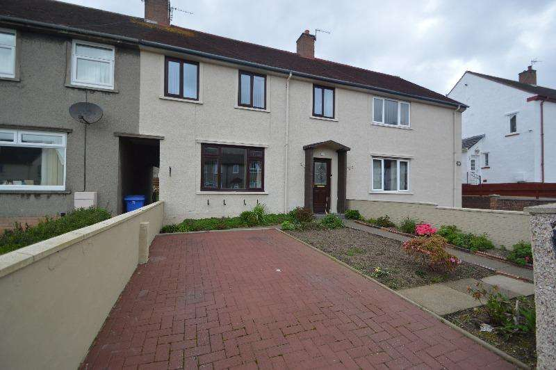 3 Bedrooms Terraced House for sale in Lochlea Drive, Ayr, South Ayrshire, KA7 3DS