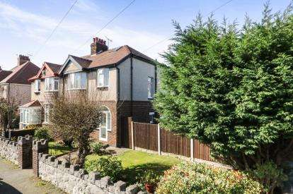 3 Bedrooms Semi Detached House for sale in Berthes Road, Old Colwyn, Colwyn Bay, Conwy, LL29