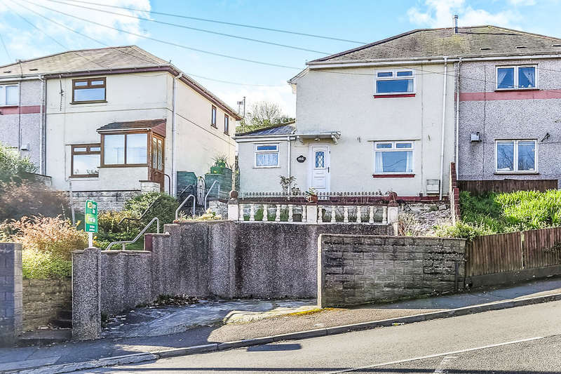 3 Bedrooms Semi Detached House for sale in Elphin Road, Townhill, Swansea