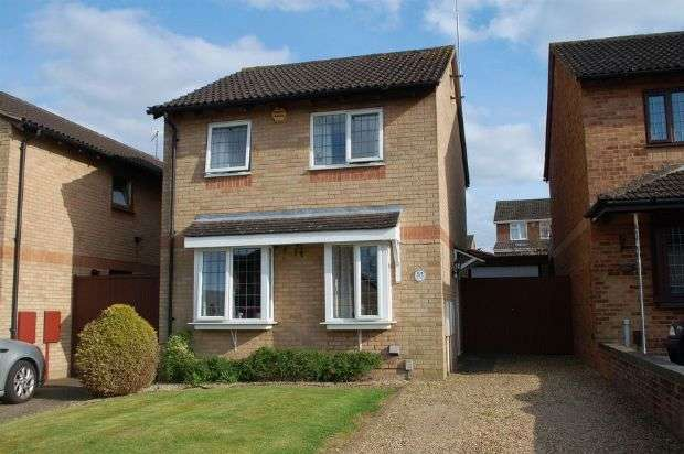 3 Bedrooms Detached House for sale in Oakleigh Drive, Duston, Northampton NN5 6RP