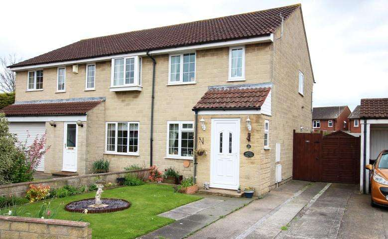 3 Bedrooms Semi Detached House for sale in Withygrove Close, Bridgwater TA6