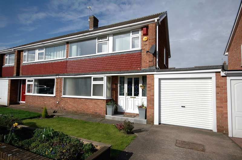 3 Bedrooms Semi Detached House for sale in Napier Close, Chester Le Street, County Durham, DH3