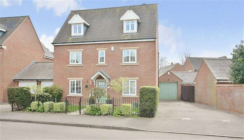 5 Bedrooms Detached House for sale in Ellison Drive, Banbury