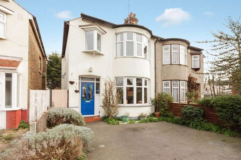 3 Bedrooms Semi Detached House for sale in Springfield Drive, Westcliff-on-Sea