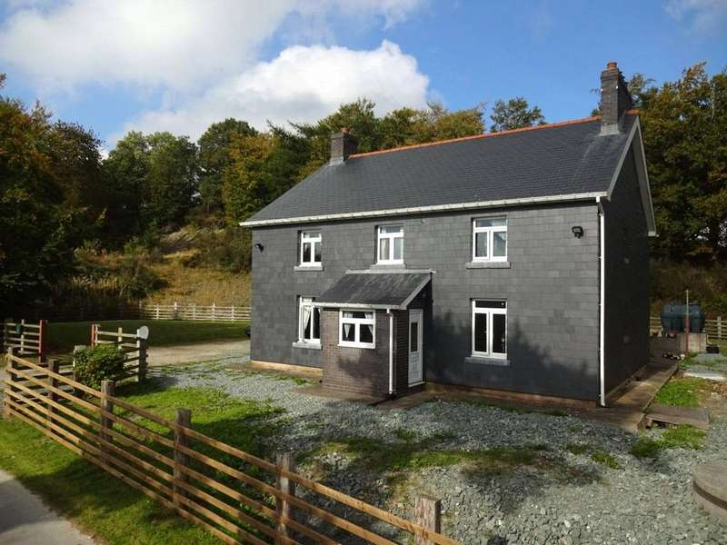 4 Bedrooms Detached House for sale in Kerry, Newtown, Powys