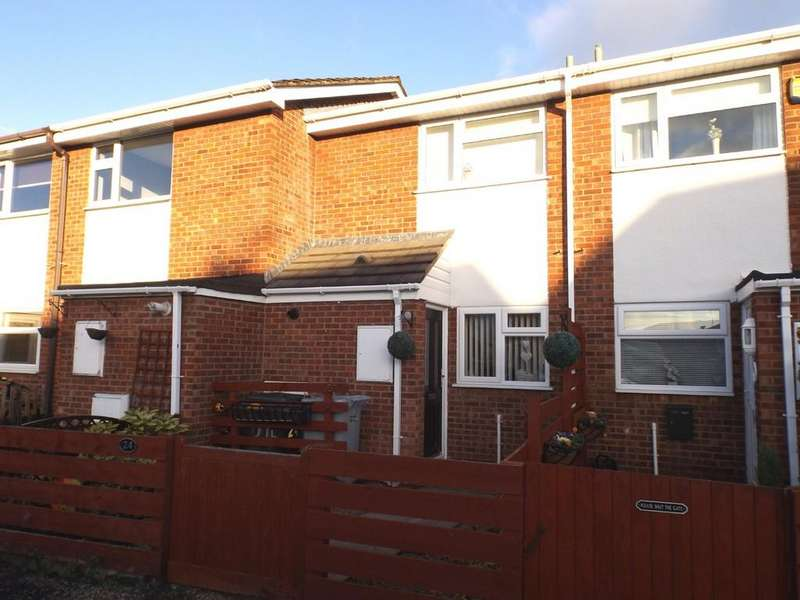2 Bedrooms Terraced House for sale in Bidvale Way, Coppenhall