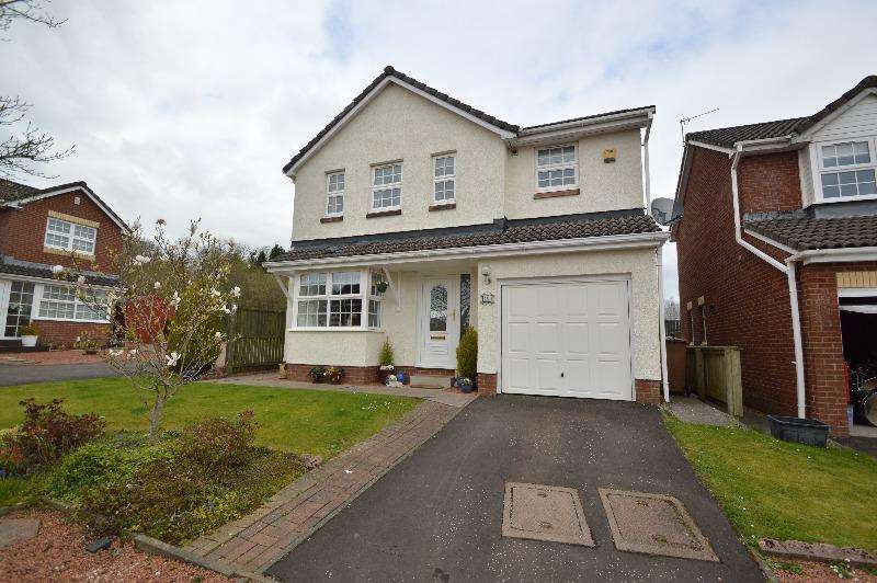 4 Bedrooms Detached House for sale in Somerville Park, Irvine, North Ayrshire, KA11 2EL