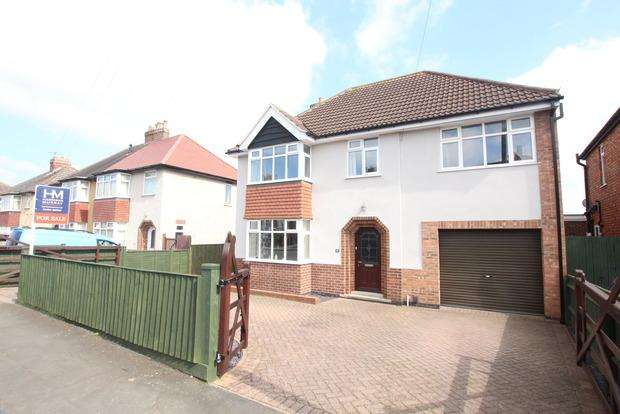 4 Bedrooms Detached House for sale in Elmhurst Avenue, Melton Mowbray, LE13