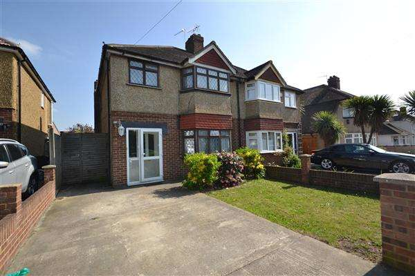 3 Bedrooms Semi Detached House for sale in West View, Bedfont