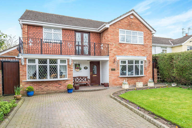 4 Bedrooms Detached House for sale in Cocklade Lane, Hale Village, Liverpool, L24